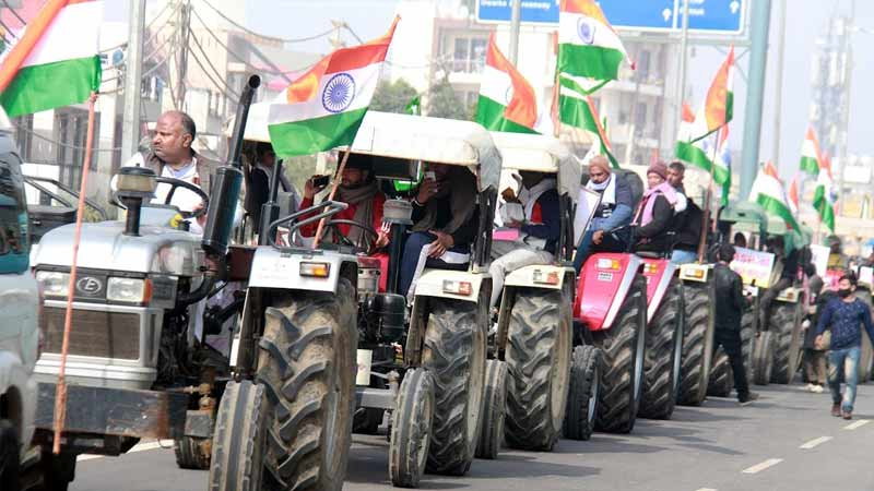 Kisan unions to meet delhi police shorty to dicuss tractor rally