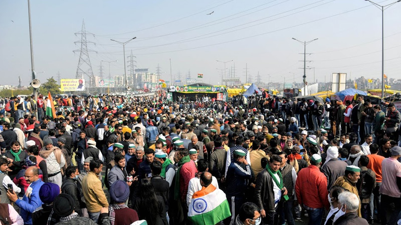 farmers from punjab set out to join delhi kisan movement