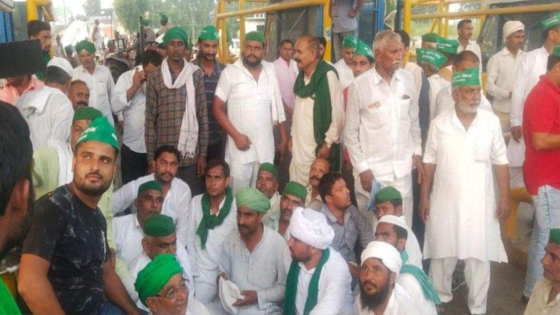 farmers march saharanpur to delhi bhartiya kisan sangathan demand modi government