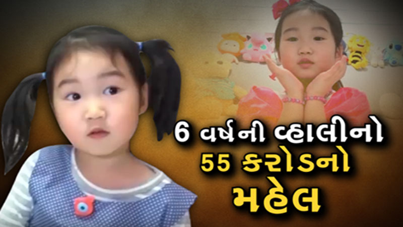 6 year old girl bought 55 crores new house
