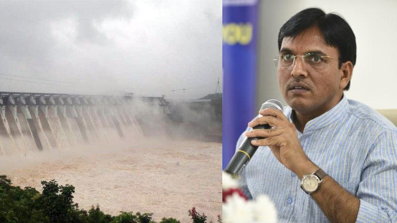 Statement by Union Minister Mansukh mandaviya on Narmada Dam issue