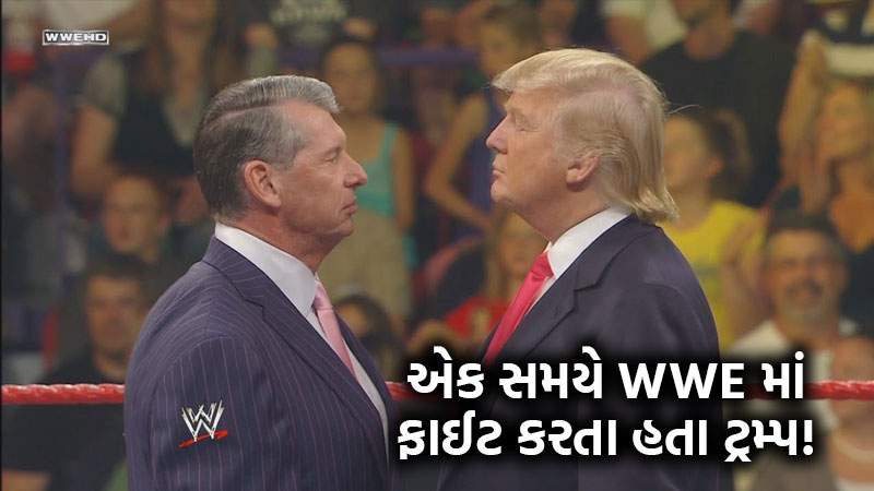 Donald Trump was once caught in a fist fight with mr macmohan in WWE