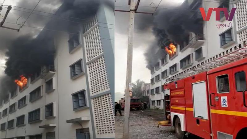 fire in Surat Gujarat
