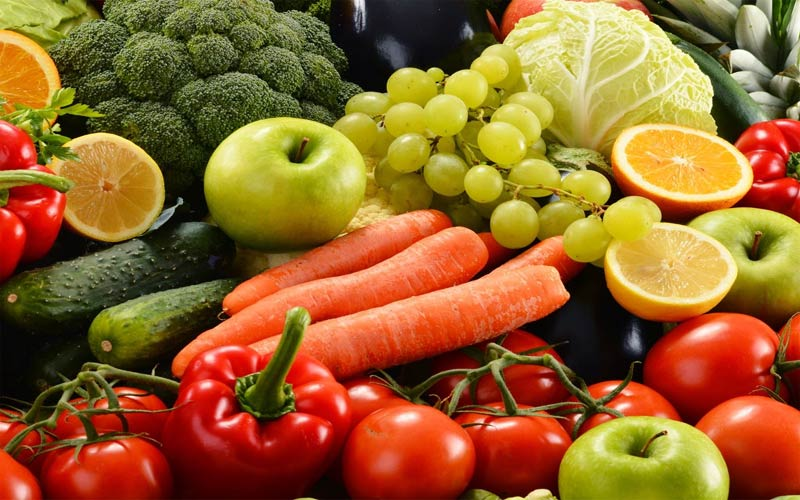 If you don't eat fruit and vegetables, then be aware