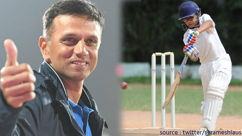 samit dravid smashes secind double century in less than two month