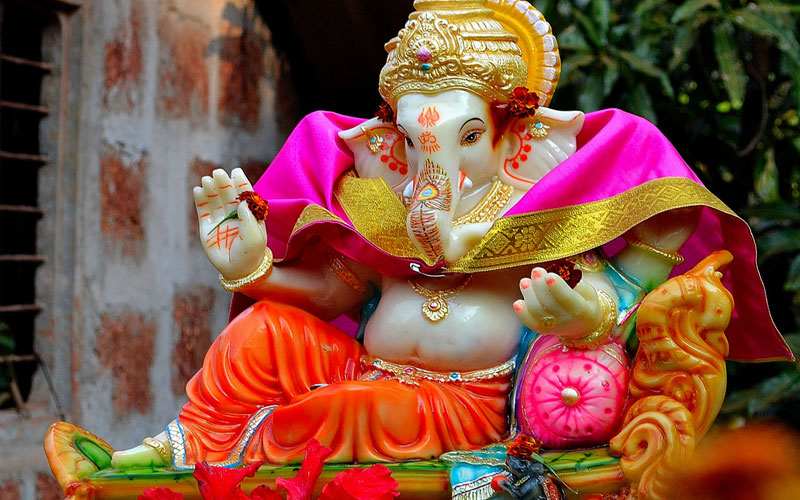 puja path mantra of gajanan for success prosperity and growth