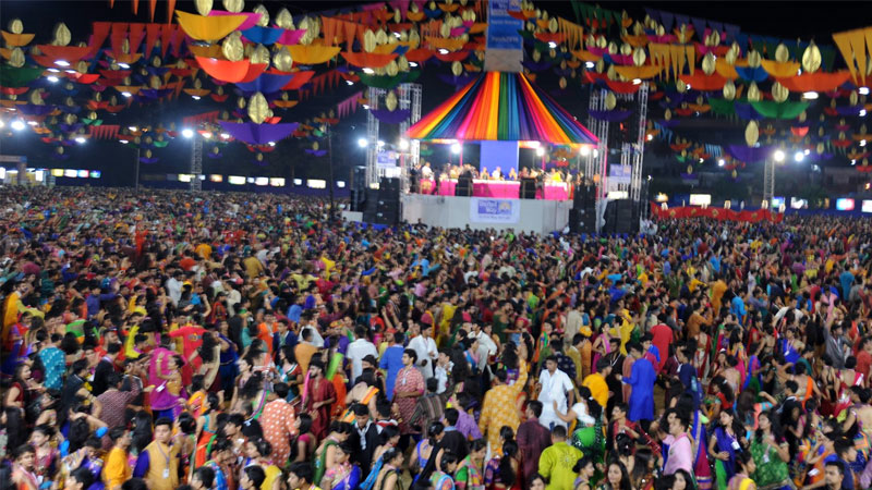 Gujarat navratri garba police civil dress code ahmedabad