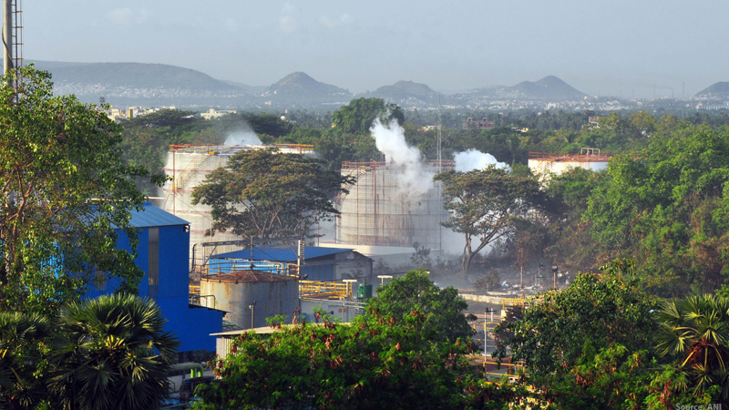 visakhapatnam dm says vijag gas leak incident occurs due to technical fault in refrigerator unit fir lodged