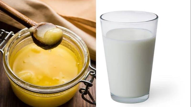 ghee in milk is best for health desi ghee increase sex drive