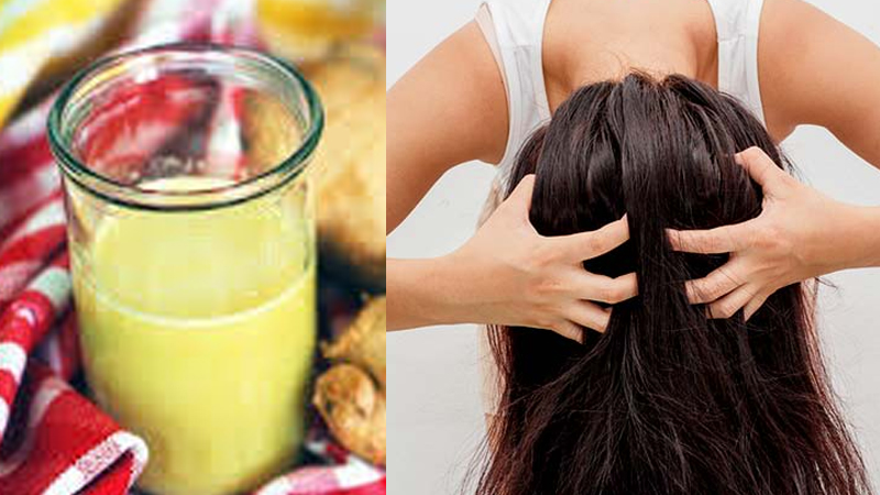 Hair Fall And Hair Growth Remedies At Home With Ginger And Kali Mirch Solution