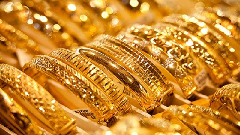 gold prices today update drop after jumping 1250 rupees per ten grams in a day silver rates higher