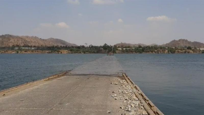 Gora bridge on Narmada gone history its breakdown from government