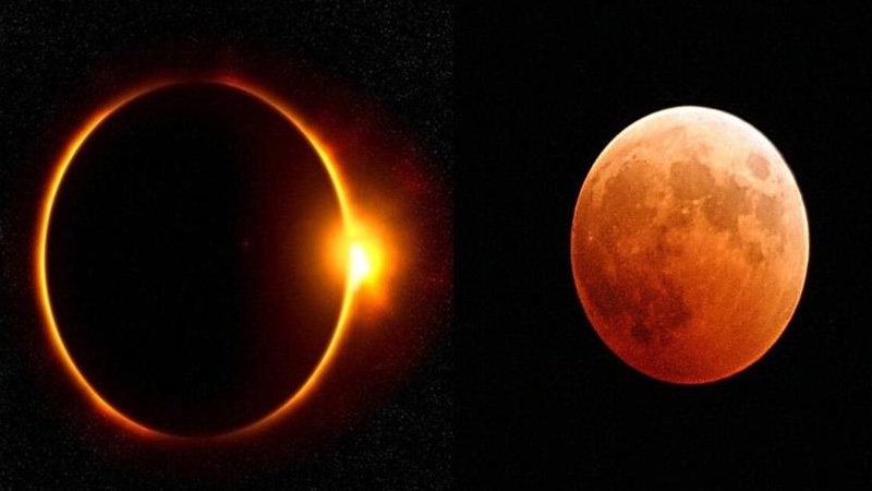 four new eclipses of eclipse coming with   new year full lunar eclipse will begin of   the year 2021
