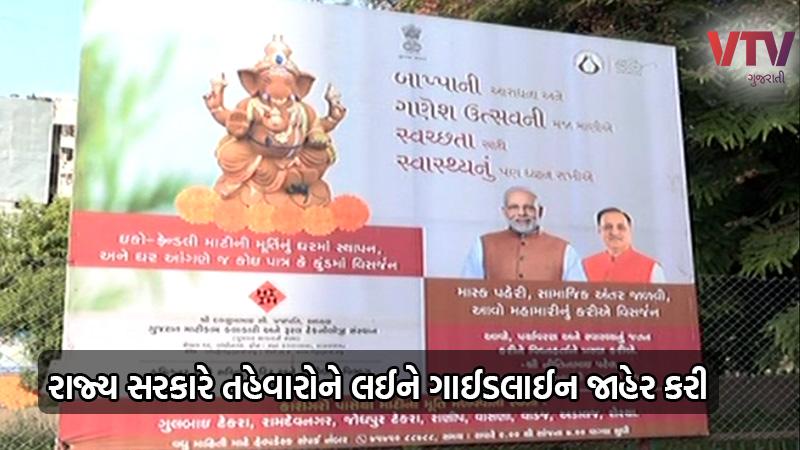 coronavirus in Gujarat guideline for ganesh visarjan and rakshabandhan