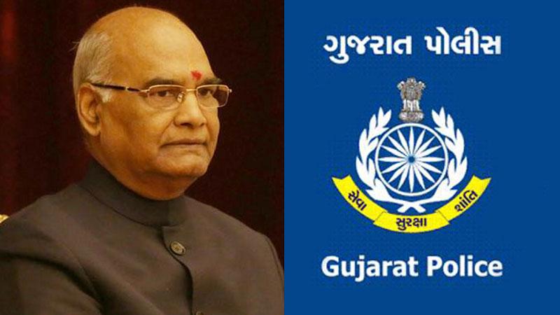 15મી ઓગસ્ટે ગુજરાતના 13 પોલીસ જવાનોને રાષ્ટ્રપતિ મેડલથી કરાશે સન્માનિત