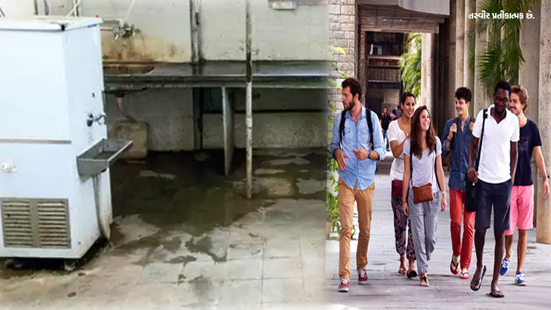 Gujarat University hostel and kitchen has major sanitation issues claims foreign students