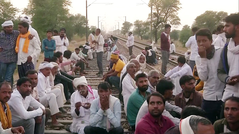 consensus reached on gurjar reservation with rajasthan goverenment agitation comes to an end