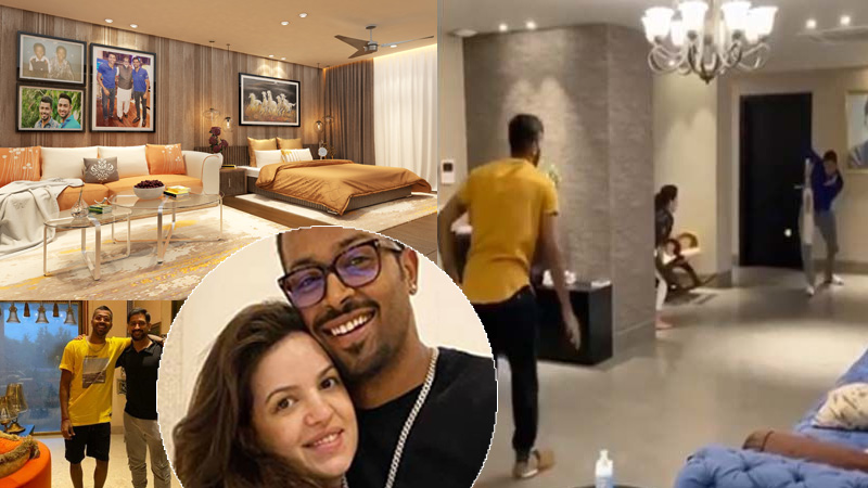 This penthouse of Hardik Pandya is spread over 6 thousand Sq ft, see how luxurious it is from inside