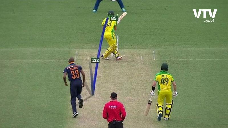 Hardik Pandya bowls against australia despite injury due to situation