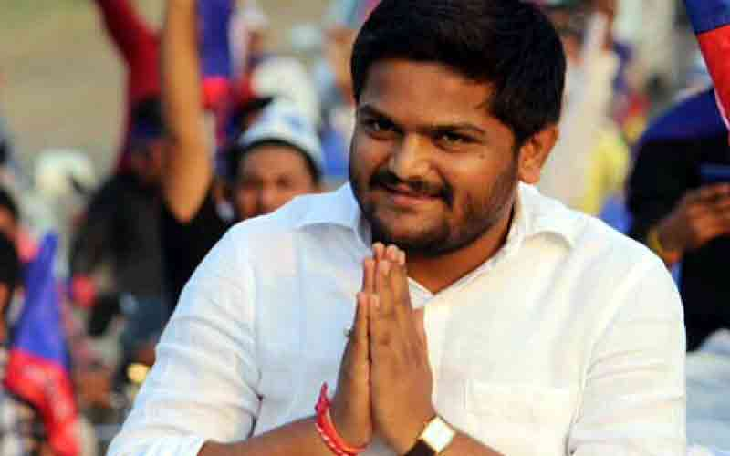 What will happen to Rajkot about whether to keep Hardik Patel in the pass?