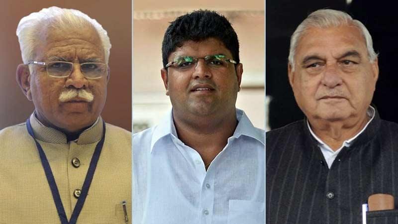 haryana exit poll congress bjp