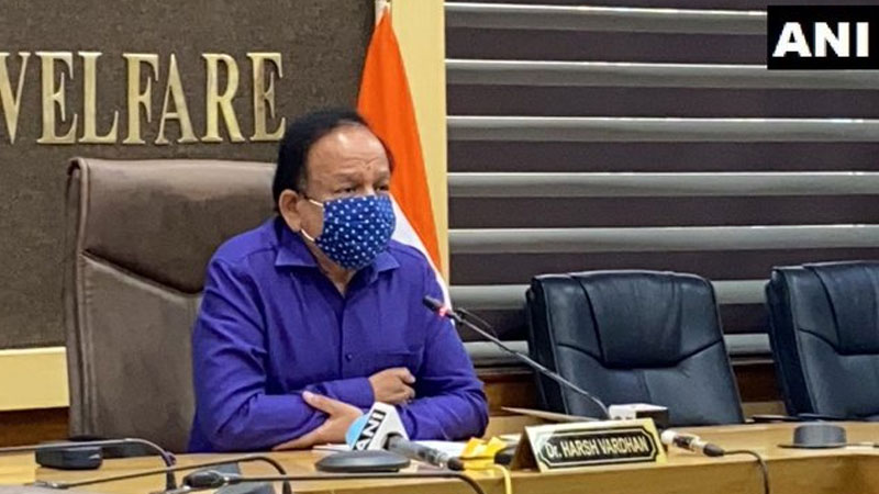 Harsh Vardhan Flare Up Over Maharashtra Government Allegations About Vaccine Deficiency It Is Foolish To Spread Panic Among...