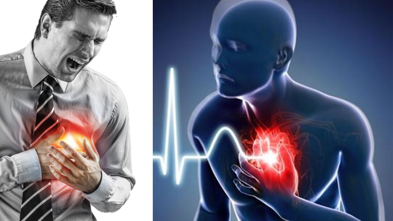 6 Early Signs Of Heart Attack and prevention