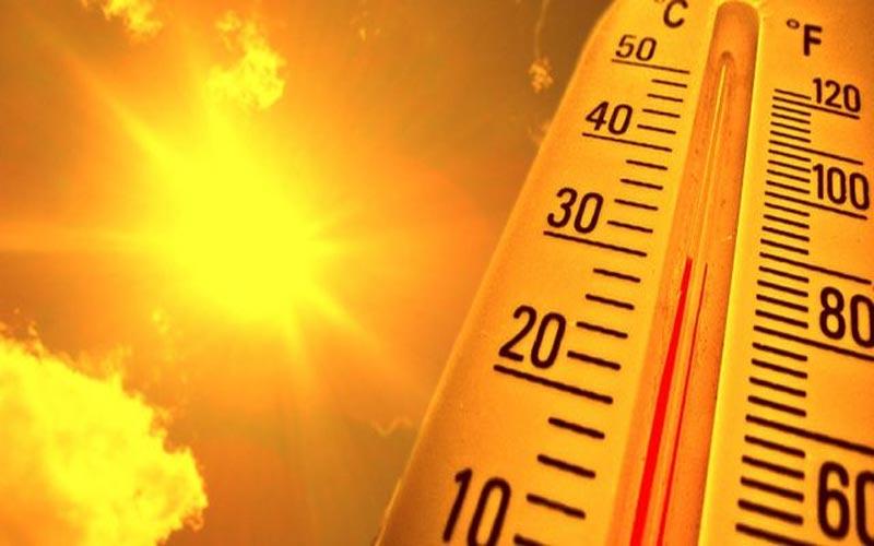 Heavy heatwave in Mehsana district gujarat