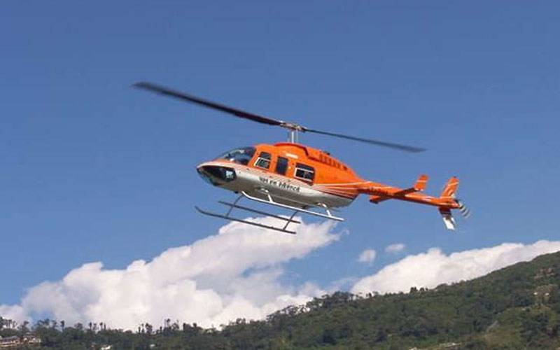 Chardham Yatra Helicopter service kedarnath and hemkund