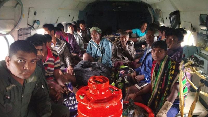 33 persons rescued navsari district rain forecast
