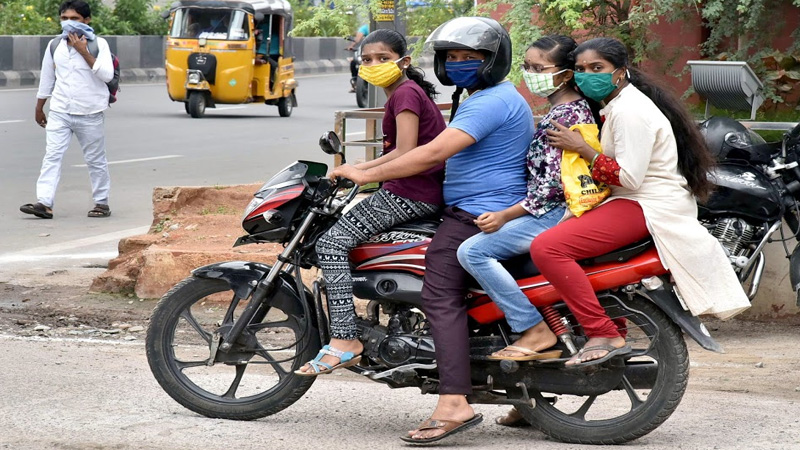 check new guidelines for two wheelers govt makes it mandatory for all motorbikes to have handholds for safety reasons