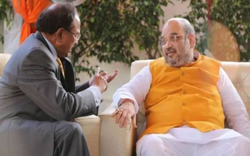 amit shah high level meeting on internal security west bengal nsa ajit doval