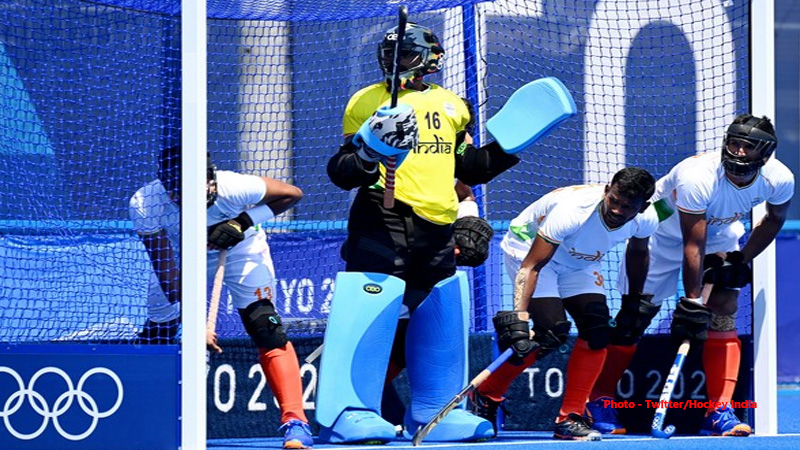 others tokyo olympics indian hockey team registered third win beat argentina enter quarter final
