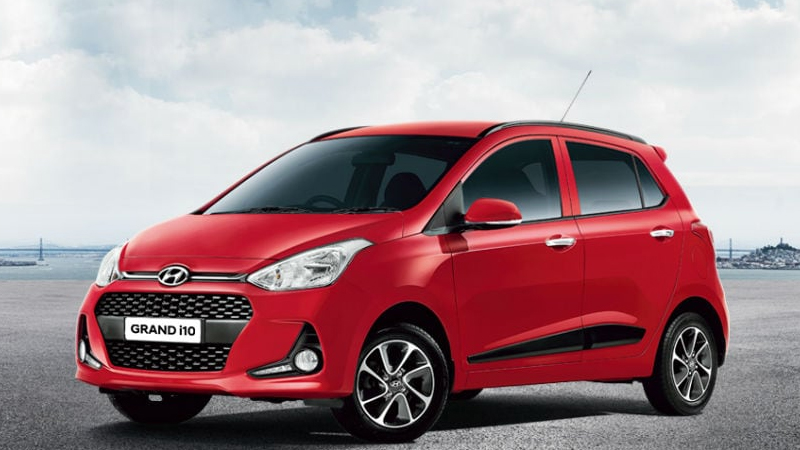 new hyundai grand i10 magna emi for 7 years loan amount down payment on road price