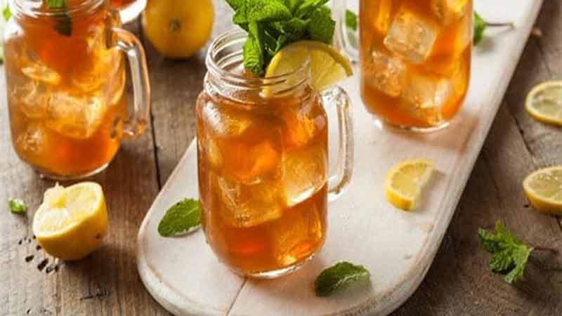 In summer iced tea benefits of health