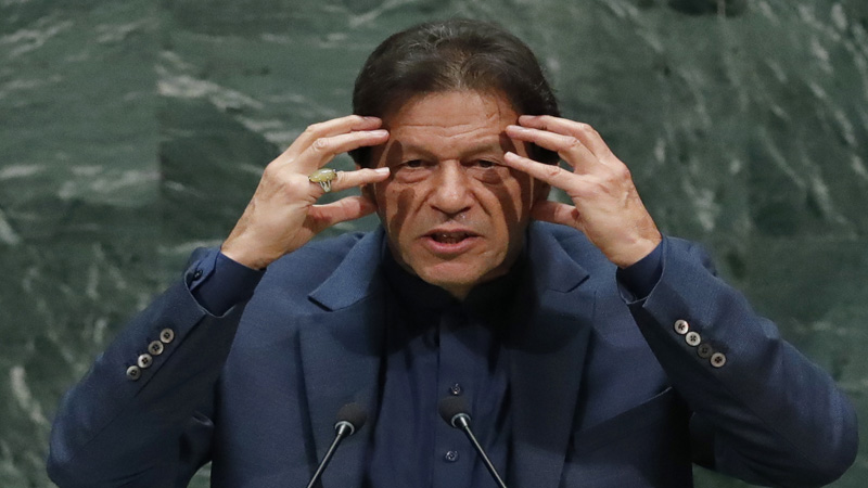 pakistan pm imran khan says he is ready to sit in opposition will face vote of confidence