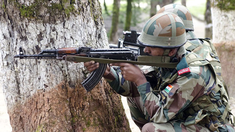 Two terrorists killed in encounter in Jammu and Kashmir