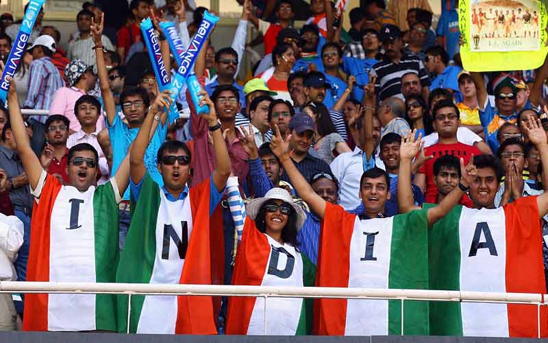 Indian fan England World Cup Match