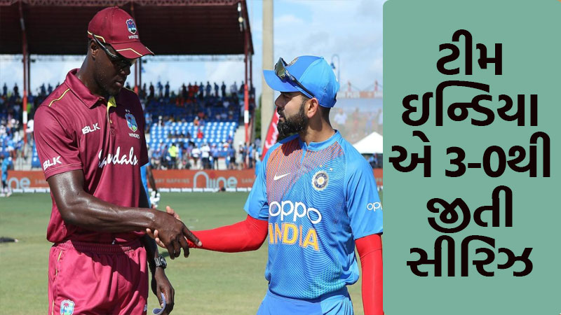 India vs West Indies: Kohli, Pant fifties help India to 3-0 series clean sweep