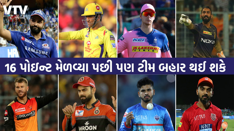 Teams with 16 points can also get eliminated IPL point table explained
