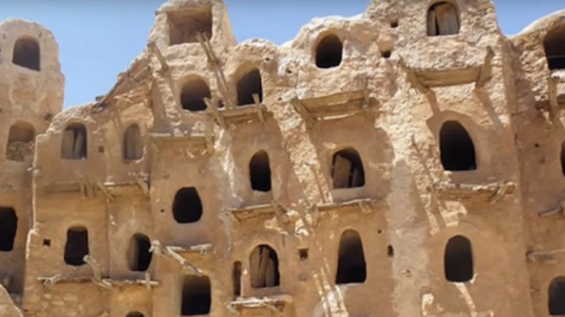 people in this village are living in nest   since 700 years