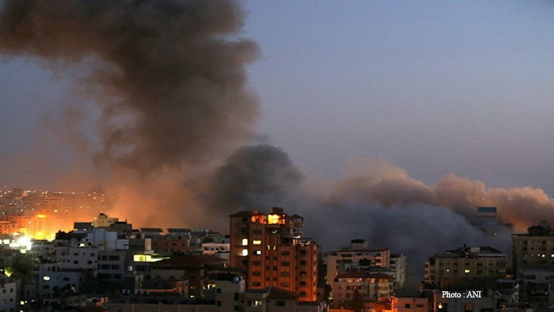 israeli air force launched air strikes on the gaza strip early wednesday