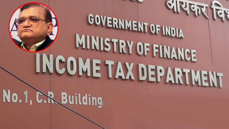 Amit jain reappointed as Gujarat income tax principle chief commissioner from mumbai