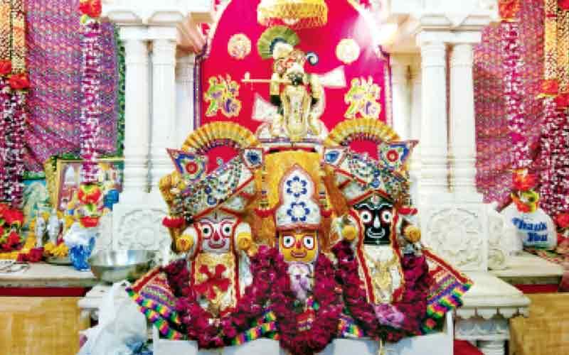 Jagannath Rath Yatra 2019 Tuesday back temple