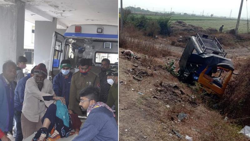 jamnagar road accident two death