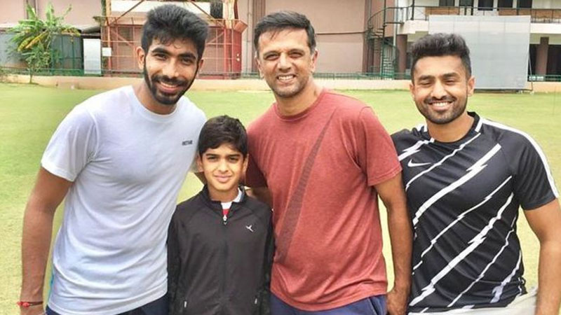cricket jasprit bumrah rahul dravid nca karun nair india vs west indies