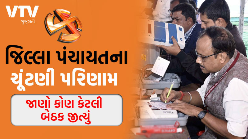 Gujarat Local Body Elections 2021 Result district panchayat