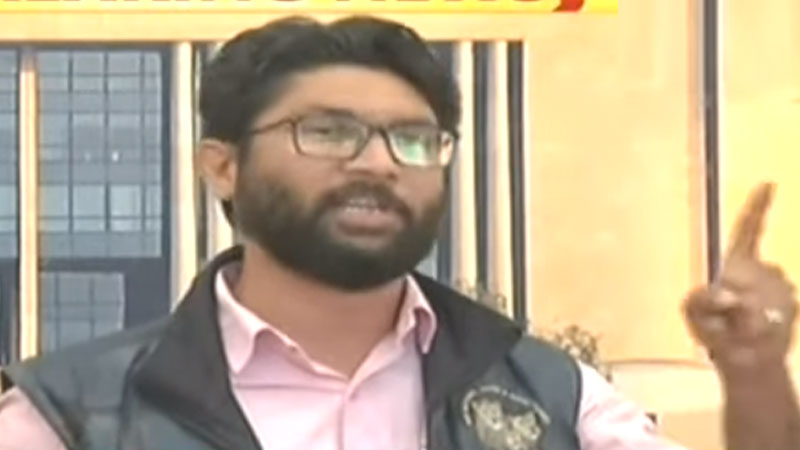 MLA Jignesh Mewani was suspended from Gujarat Assembly