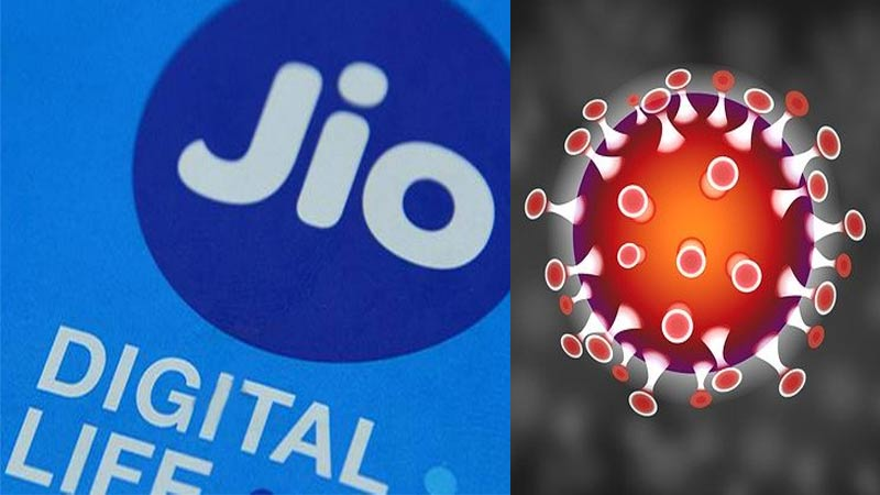reliance jio on corona virus awareness change default callertune as safety tips for covid19