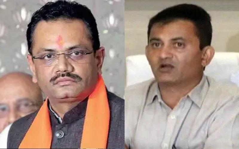 BJP Congress Meeting rajyasabha election candidate